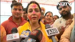 नेता भी डूबे रहे होली के रंग में - NDTVINDIA