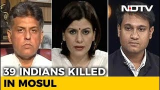Political Row Over Indians Killed By ISIS - NDTV