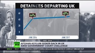 Life in Limbo: Afghan asylum seeker back in UK amid govt court challenge - RUSSIATODAY