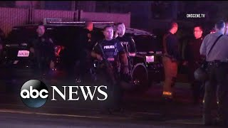 Officers injured in shooting after confronting suspect - ABCNEWS