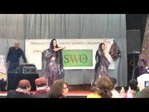 SINDHI CULTURAL DANCE by POLISH GIRLS 2013