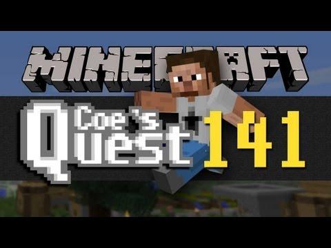 Coe's Quest - E141: DogFort (Minecraft)