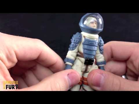 Kane in Nostromo Space Suit Alien ReAction Action Figure Review Funko x Super7