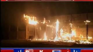 Delhi Gurgaon:  दिल्ली से सटे गुड़गांव के मैरिज हॉल में आग का कहर - ITVNEWSINDIA
