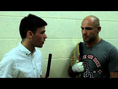 Post-Fight Interview with Cathal Pendred following Cage Warriors 55