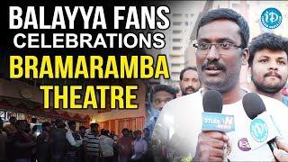 Balayya Fans Celebrations At Theaters || Jai Simha Movie || iDream Movies - IDREAMMOVIES