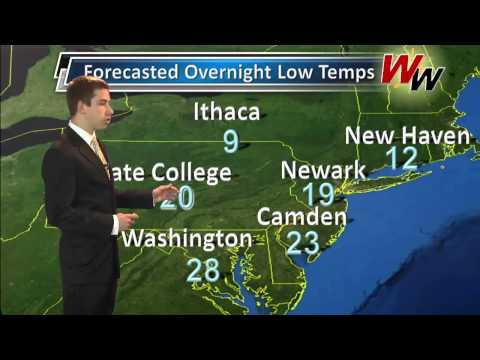 Thursday March 6th, 2014 Evening Forecast