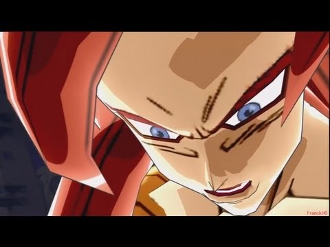 Dragon Ball Z Budokai 3 SSJ4 Gogeta (w/100x Big Bang Kamehameha) vs Omega Shenron [HD]