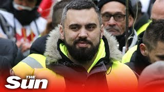 Yellow Vest Eric Drouet appears in court - THESUNNEWSPAPER