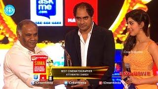SIIMA 2014 Best Cinematographer Prasad Murella for Attarintiki Daredi - IDREAMMOVIES