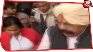 'Don't You Know My Power' BJP MLA Uday Bhan Singh Threatens SDM In Public - AAJTAKTV