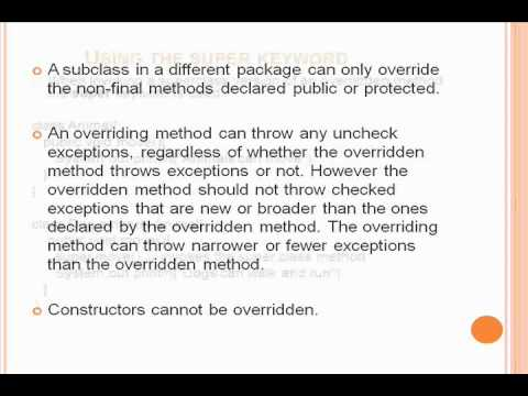 Object Oriented Concepts in JAVA ~ Part-02