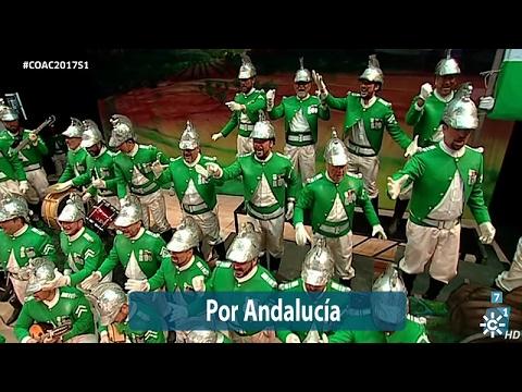 Sesión de Semifinales, la agrupación Por Andalucía actúa hoy en la modalidad de Coros.