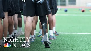 Challenged Athletes Foundation helps competitors achieve their dreams | NBC Nightly News - NBCNEWS