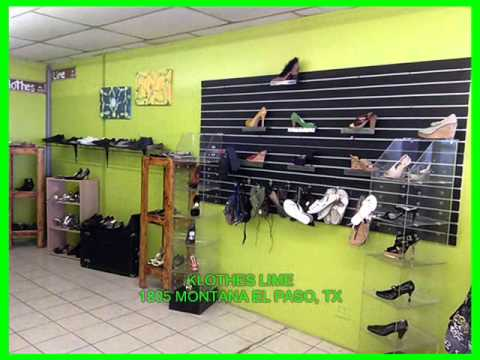 10 % off at KLOTHES LIME in El Paso, Tx if you mention this video