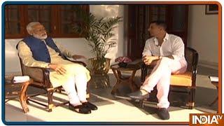 PM Modi Interview With Akshay: अपने गैर राजनीतिक इंटरव्यू में PM Modi ने कही ये 5 बड़ी बातें - INDIATV