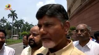 AP CM Chandrababu Naidu Supports NDA President Candidate Ram Nath Kovind   Delhi   Mango News - MANGONEWS
