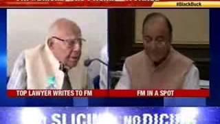Ram Jethmalani's letter bomb to Arun Jaitley - NEWSXLIVE