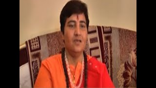 In soup over remarks against Hemant Karkare, Sadhvi Pragya to submit reply to EC's notice - ABPNEWSTV