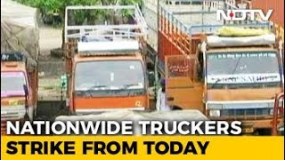 Truck Operators Begin Nationwide Indefinite Strike From Today - NDTV