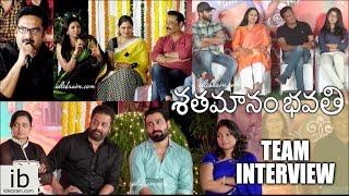Shatamanam Bhavati team special interview - idlebrain.com - IDLEBRAINLIVE