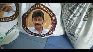 Dr Rajashekar Charitable Trust Distributed 200 Bags Of Daily Necessities - TFPC