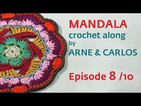 How to Crochet a Mandala. Part 8 by ARNE & CARLOS