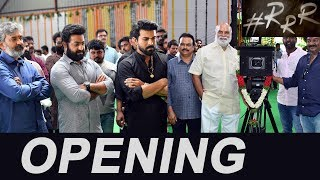 RRR Launch Video - NTR, Ram Charan | SS Rajamouli - IGTELUGU