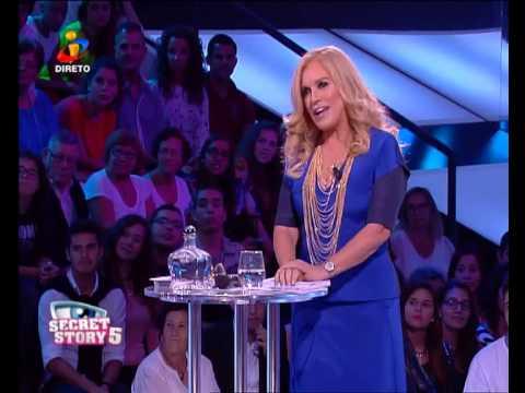 Vídeos Secret Story 5 Rita Pereira entra na CASA  Secret Story 5  TVI  Site Secret Story 5