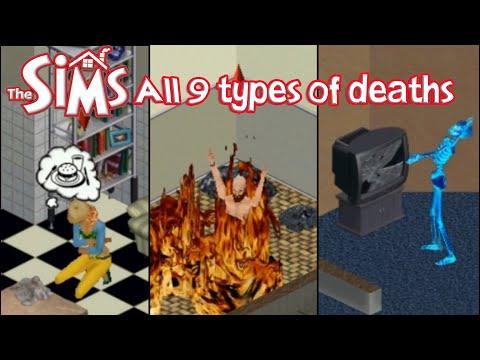 """Rodzaje śmierci w pierwszej części """"The Sims"""""""