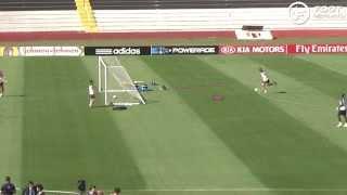 Đội tuyển Pháp tập luyện kiểu lạ trước trận tứ kết với Đức