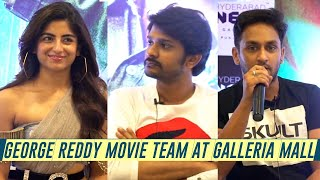 George Reddy Movie Team At Galleria Mall | Sandeep Madhav, Muskaan Khubchandani - TFPC