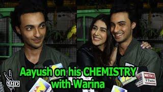 Aayush Spoke about his CHEMISTRY with Warina | LOVEATRI - IANSINDIA