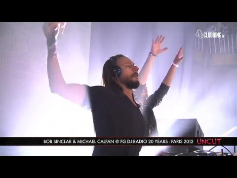 Clubbing TV presents FG 20 Ans @ Grand Palais Paris with Bob Sinclar & Michael Calfan - 2012
