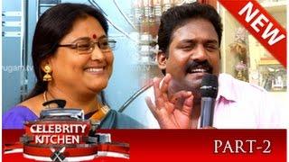 Celebrity Kitchen With Actor Robo Shankar and Actress Bala Ambika 10-08-2014 PuthuYugam TV Show