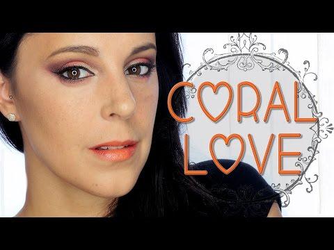 Maquillaje intenso coral love l Silvia Quiros
