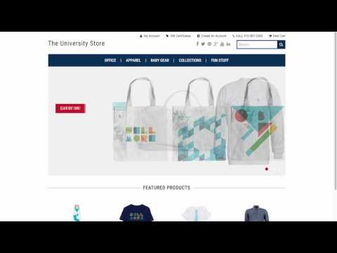 Product Categories - Launch Store | Bigcommerce University
