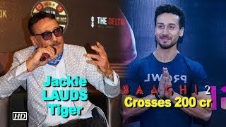 Jackie Shroff REACTS on Tiger Shroff's 'Baaghi 2' response - BOLLYWOODCOUNTRY