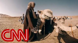 Ride a camel through the world's largest sand desert - 360 Video - CNN