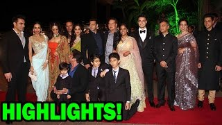 Highlights of Salman Khan's sister Arpita Khan & Aayush Sharma's Reception - EXCLUSIVE
