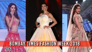 Brace Yourself, Soha, Sushmita & Disha Looks STUNNING| BTFW 2018 - BOLLYWOODCOUNTRY