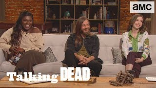 'What Drove Enid to Become a Doctor?' Fan Questions Ep. 902 | Talking Dead - AMC