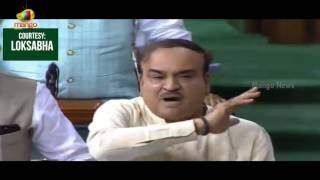 Ananth Kumar Fires On Congress Members Over Their Misconduct | Lok Sabha | Mango News - MANGONEWS