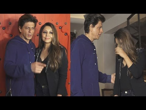 Shahrukh Khan & Gauri Khan at Reopening of Corner House | Bollywood News & Gossips