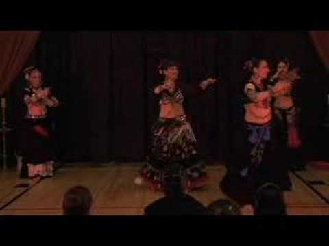 FatChanceBellyDance at Cues and Tattoos  2008 Part 1