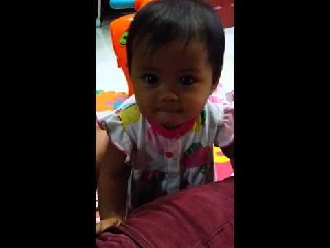 (Haifa Daniya) 8mth 3days - stand up with support