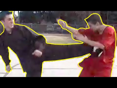 Taekwondo vs Karate | Retro Martial Arts Fight Scene (2001) - صوت وصوره لايف