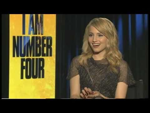 Interview with Dianna Agron - I AM NUMBER FOUR
