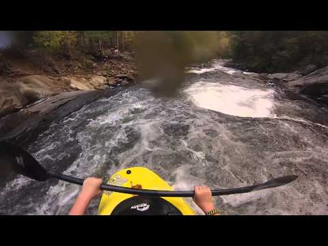 Playboating the Tellico with Garrett: Short Clip