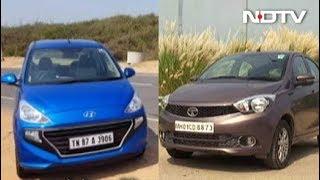 रफ्तार : Hyundai सेंट्रो या टाटा टियागो में से कौन गाड़ी है पैसा वसूल? - NDTV